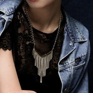 Mr. Kate Dusk Collection Rain Necklace